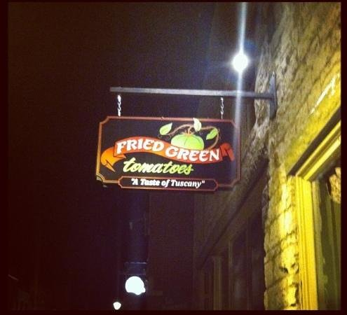 Fried Green Tomatoes:                   Awesome Place