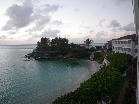 Grand Case Beach Club:                   View from room to Sunset Grille
