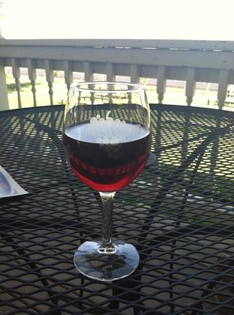Galena Cellars Winery & Vineyard:                   pomegranate wine