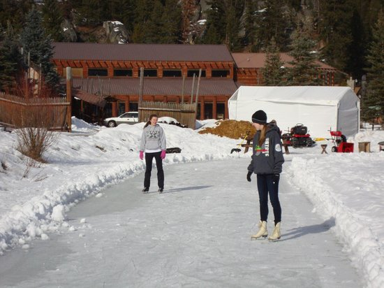 The Lodge at Lolo Hot Springs:                   Ice Rink