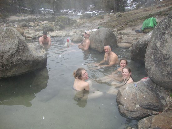 The Lodge at Lolo Hot Springs :                   Jerry Johnson Hot springs 30 minutes away