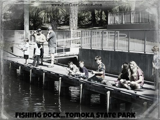 Outpost food rentals camp supplies picture of tomoka for Rent fishing gear near me