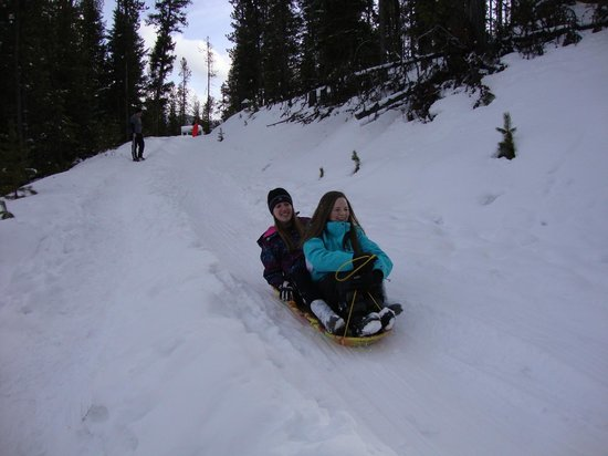 The Lodge at Lolo Hot Springs:                   Sledding Hill