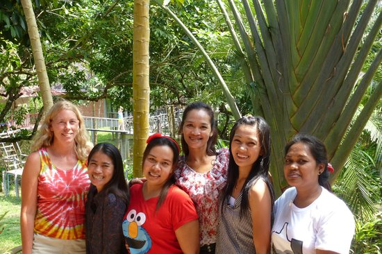Khao Sok Smiley Bungalow:                                     The GREAT staff at the Bungalows