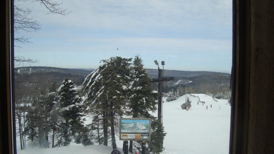Seven Springs Mountain Resort:                   View from the top at Tahoe Lodge