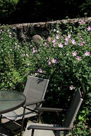 Villa Ottilia: A look at the garden terrace