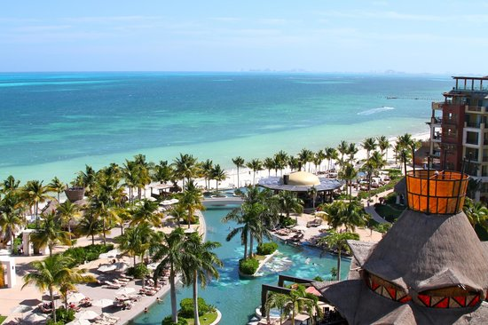 Villa del Palmar Cancun Beach Resort & Spa:                   View from our room