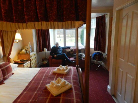 Tyn-Y-Coed Hotel:                   Room 15! Very cosy