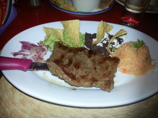 Mexico Lindo y Sabroso:                   Excellent Food for a great price
