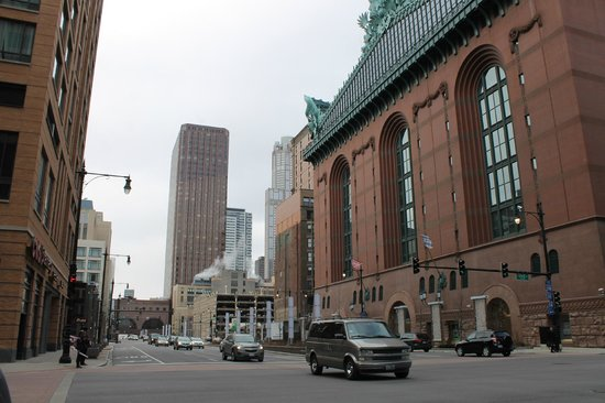 The Buckingham Club :                   The Hotel on the left viewed from State St