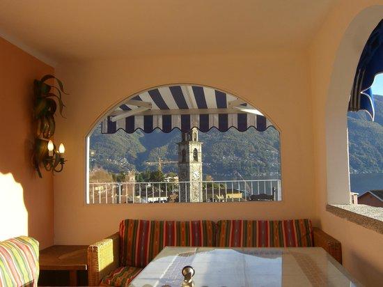 Art Hotel Riposo:                   auf der Dachterasse