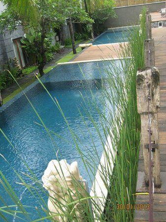 Abi Bali Resort & Villa:                   scattered swimming pools