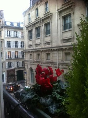 Hotel Mayfair Paris: From the Window