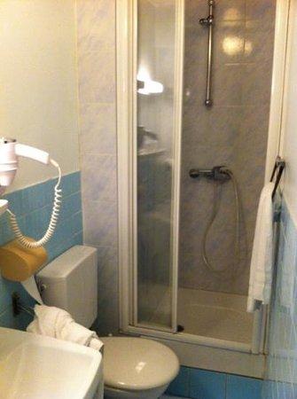 Royal Hotel:                   la salle de bains