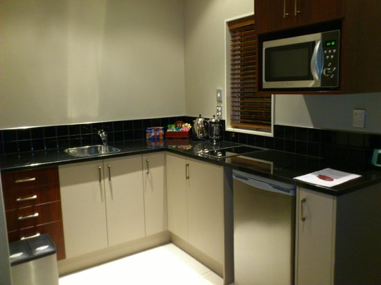 Merivale Manor:                   attached kitchen