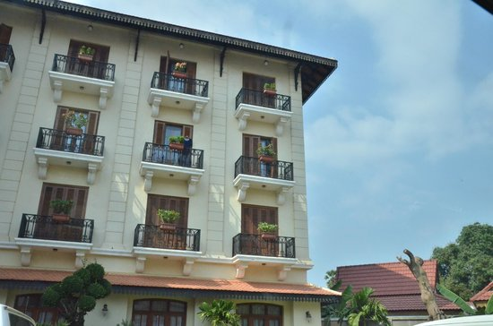 Steung Siemreap Thmey Hotel:                   the nice hotel with balcony