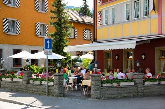 Hotel Appenzell: Gartenterasse