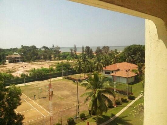 The Gateway Hotel Airport Garden Colombo:                   view Richtung Lagune