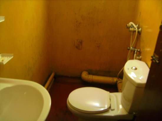 Lakshmi Guest House:                   run down bathroom