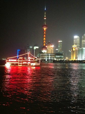 Shanghai Grand View Garden :                   Night View Ferry