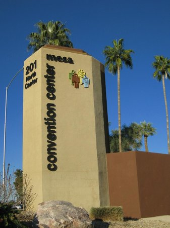 Mesa Convention Center:                   Street sign-southern end