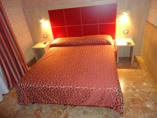 Hotel San Carlo:                   Chambre spacieuse, confortable et calme