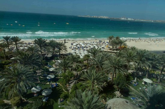 Hilton Dubai Jumeirah:                   From the hotel towards the sea