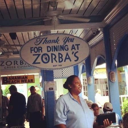 Zorba's Greek Restaurant:                                     zorba's