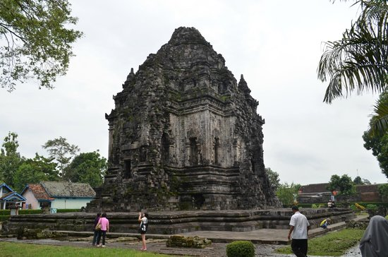 Kalasan Temple:                   attractive from afar
