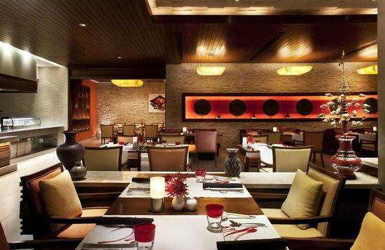 Indo-Chinese inspired cuisine at InAzia Restaurant