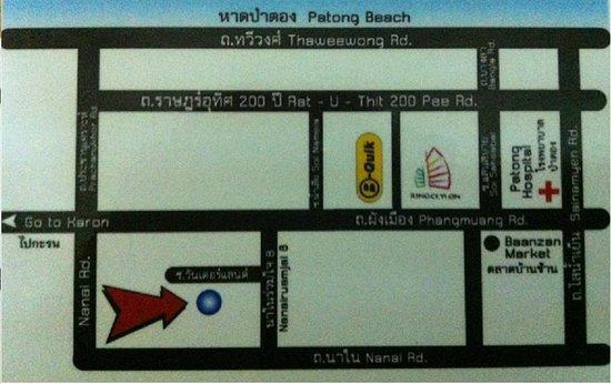 Boonyathon House: Location