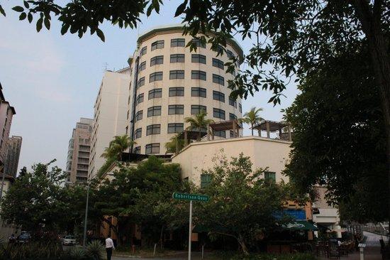 Robertson Quay Hotel:                   отель