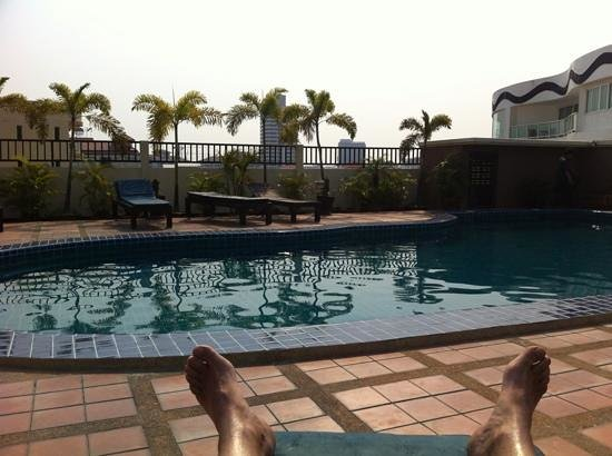 Siam View Residence:                   Tannage!!!!