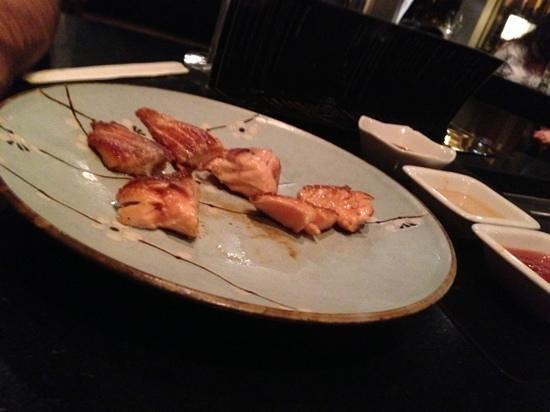 Teppanyaki Nippon :                   salmon is yummy!!!