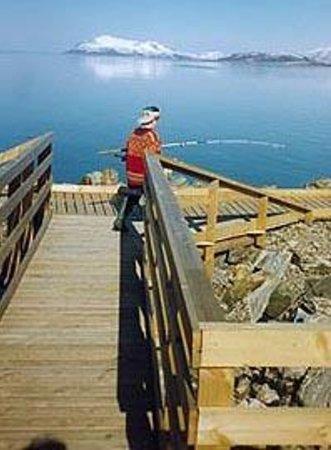 Vesterålen Sjøhus, Sjøhushotellet på Sortland: Barnesikret fiskebrygge