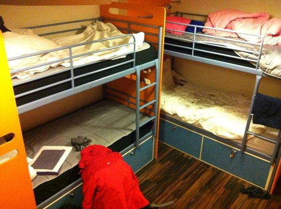 City Backpackers Hostel:                   4-bedded female dorm