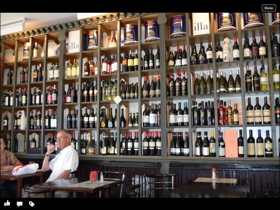 Imperial Express Cafe: Our selection of Italian wines.