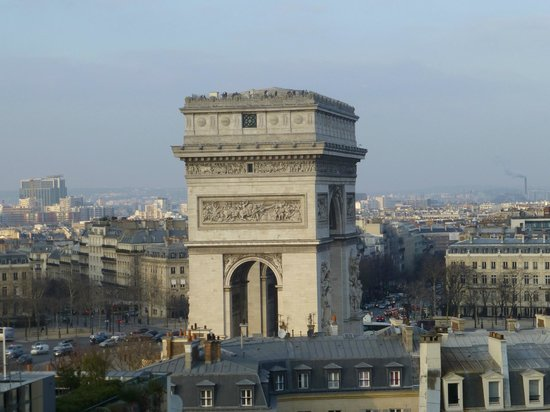Hotel Raphael:                   View from rooftop terrace