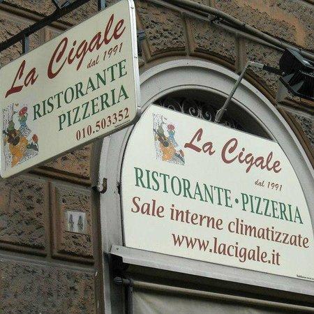 Pizzeria La Cigale Genova