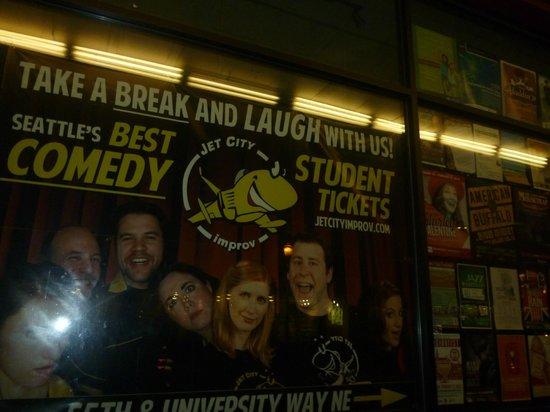 University of Washington:                   Student theatre