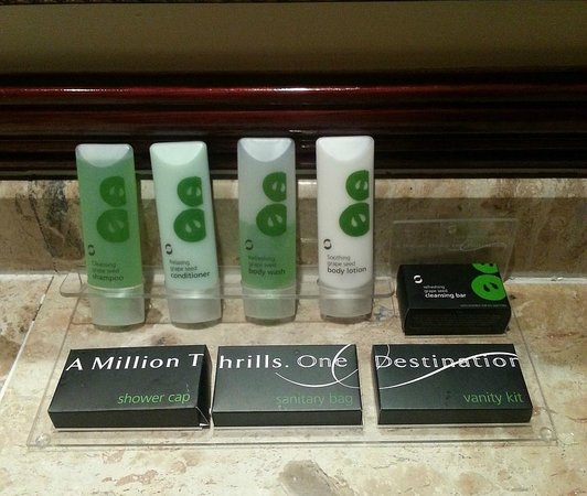 AVANI Gaborone Resort & Casino:                   Fragrant toiletries
