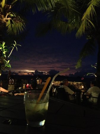 Amari Vogue Krabi:                   Sunset cocktail