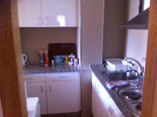 Apartamentos Levante Club:                   Fully equipped kitchen