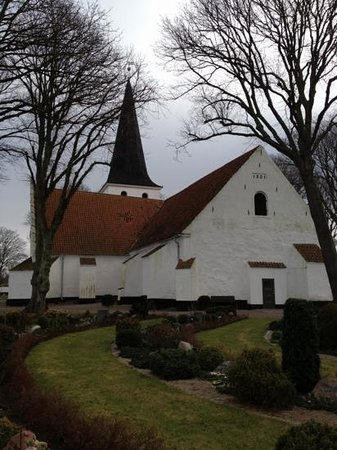 Bogense Kirke:                   Bogense church, beautiful place overlooking the sea
