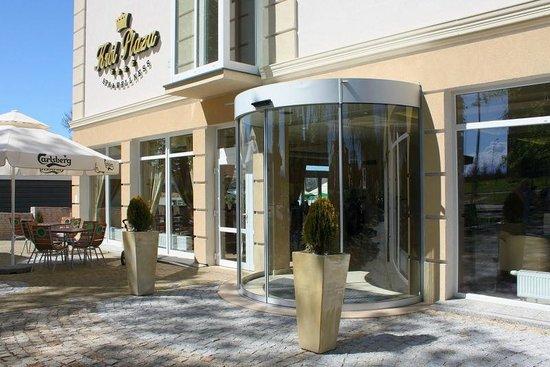 Jaroslawiec, Poland: Hotel Król Plaza Spa-wejście