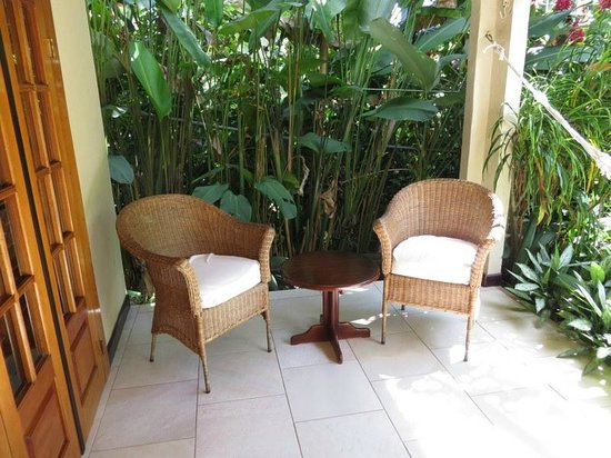Falls Resort at Manuel Antonio:                   Our veranda