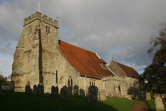 Church of St George:                   Church of St.George in October