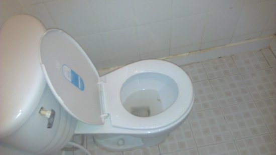 K House 2:                   Toilet broken, dirty and constantly running