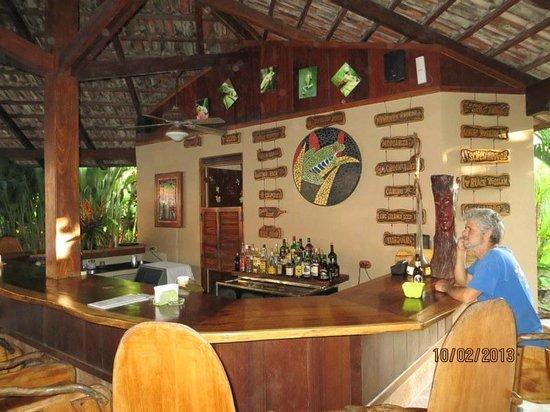 Cariblue Beach & Jungle Resort:                                     Bar