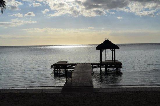Hilton Mauritius Resort & Spa:                   petit ponton de l'lhotel